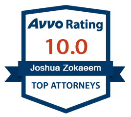 Avvo-rating-Joshua Zokaeem